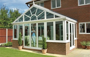 Gable Ended also known as a Pavillion DIY Conservatory