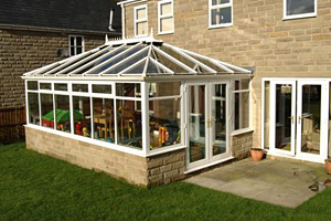 A perfect example of a Georgian do it yourself Conservatory
